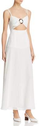 Fame & Partners Cutout Front Dress