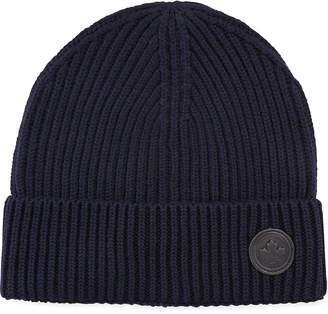 DSQUARED2 Men's Wool Knit Beanie Hat