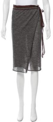 Jean Paul Gaultier Knit Wrap Skirt
