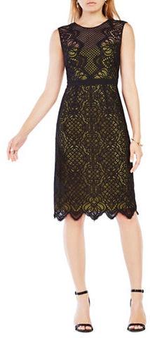 BCBGMAXAZRIABcbgmaxazria Suzannah Sleeveless Lace Dress