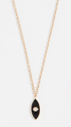 Jennifer Zeuner Jewelry Nazar Enamel Necklace