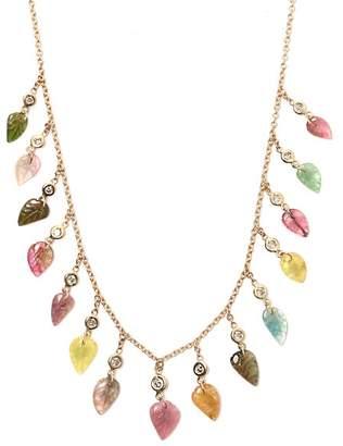 Jacquie Aiche Diamond, Tourmaline & Gold Necklace - Womens - Multi