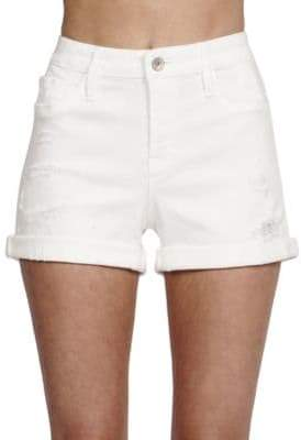 Cult of Individuality Solid Boyfriend-Fit Shorts