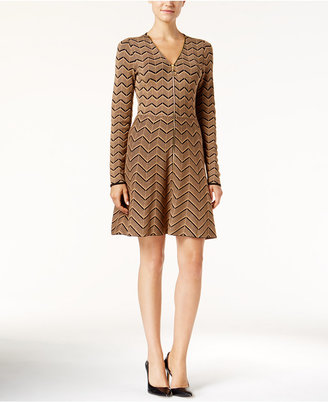 INC International Concepts Fit & Flare Sweater Dress, Only at Macy's $119.50 thestylecure.com