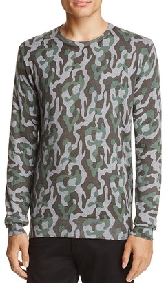Michael Bastian Camouflage Cotton Sweater $168 thestylecure.com