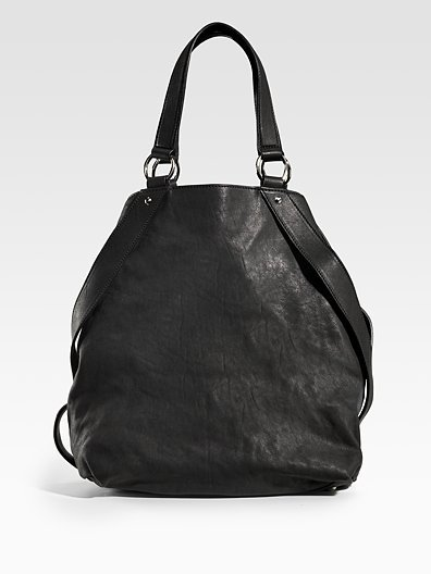 Yves Saint Laurent Large Leather Tote