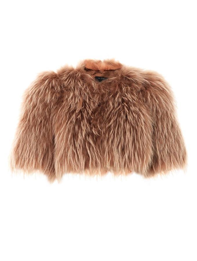 Marc Jacobs Cropped fur jacket