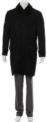 Marc Jacobs Shearling Lined Cashmere Overcoat
