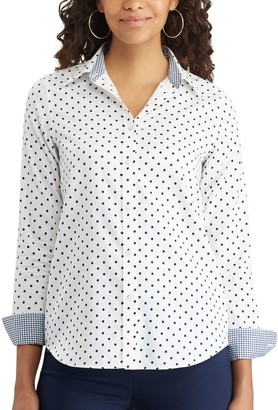 Chaps Women's No Iron Shirt