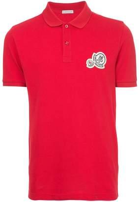 Moncler logo short-sleeve polo top