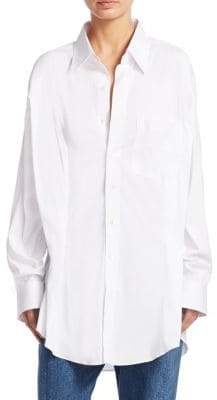 Vetements Secretary Button-Front Shirt