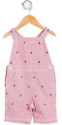 Ralph Lauren Boys' Striped Embroidered Overalls w/ Tags