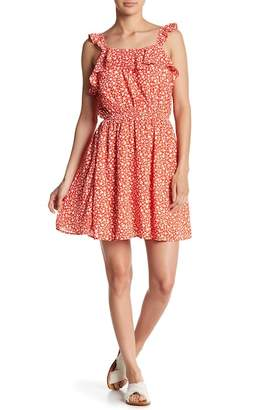 Moon River Ditsy Floral Dress