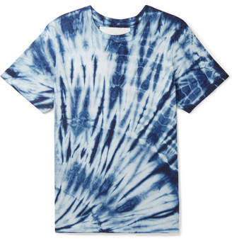 story. Mfg. - Tie-Dyed Cotton-Jersey T-Shirt - Men - Blue