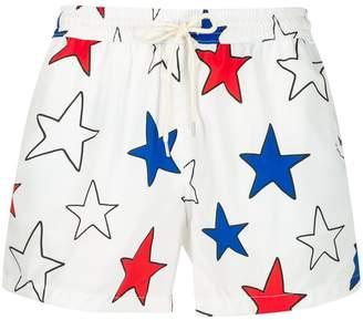 Nos Beachwear Star swim shorts