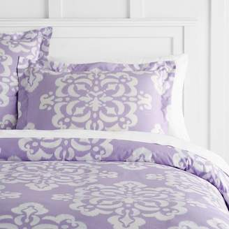 Pottery Barn Teen Ikat Medallion Duvet Cover, Twin/Twin XL, Lavender