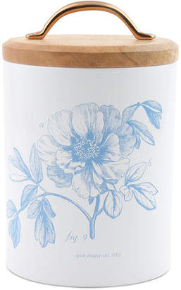 Thirstystone CLOSEOUT! Medium Floral Canister with Wood Top