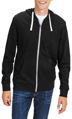 Jack and Jones Noos Jjeholmen Zip Cotton Hoodie