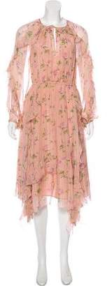 Ulla Johnson Silk Crepe Dress