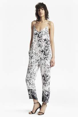 French Connection Copley Crepe Printed Strappy Jumpsuit