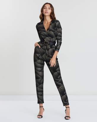 Dorothy Perkins Art Deco Sparkle Lurex Jumpsuit