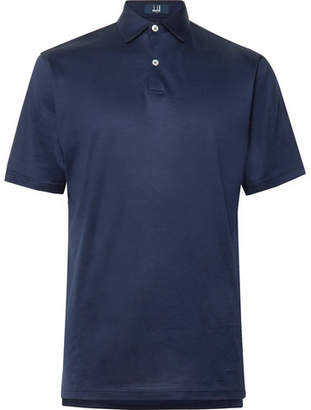 Dunhill Links Cotton-Jersey Golf Polo Shirt