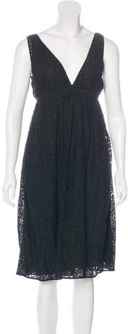 Miu Miu Miu Miu Lace Midi Dress w/ Tags