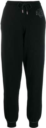 Barrie cashmere track trousers