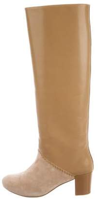 Schumacher Leather Knee-High Boots