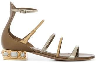 Casadei embellished gladiator sandals