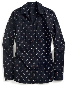 Final Sale-Long Sleeve Anchor Shirt $59.99 thestylecure.com