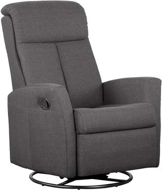 Shermag Swivel Glider with Push-Button Recline