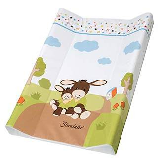 Sterntaler Rotho Babydesign Emmi Style! Wedge Changing Pad, from 0 Months, 70 x 50 cm, Design, Style!, White, 200990001BS