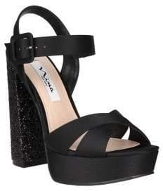 Nina Savita Satin Sandals