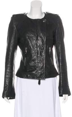 Isabel Marant Leather Structured Jacket