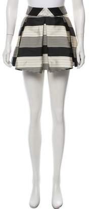 Mason Printed Mini Skirt