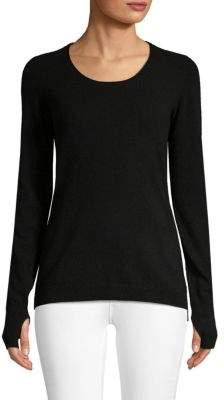 Inhabit Cashmere Blend Ribbed Pullover