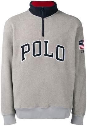 Polo Ralph Lauren zipped Polo jumper