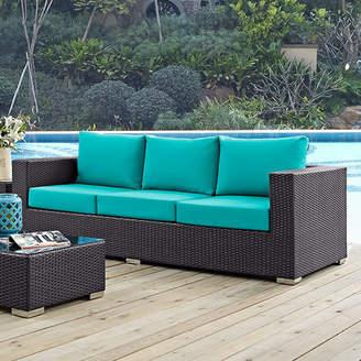 Latitude Run Ryele Patio Sofa with Cushions