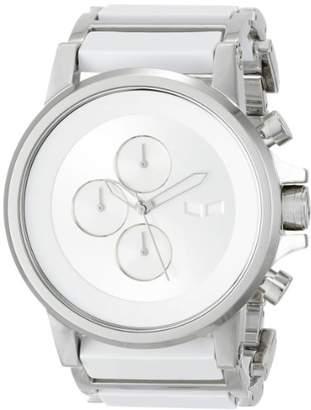 "Vestal Men's PLA016 ""Plexi Minimalist"" Stainless Steel Watch"
