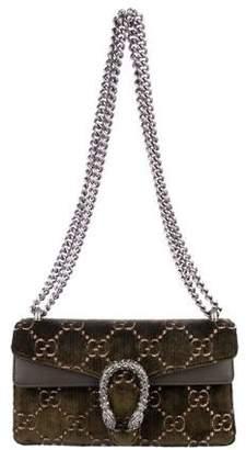 53dc66e6914 Gucci 2018 GG Velvet Small Dionysus Bag