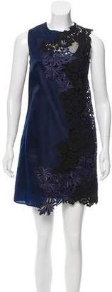 3.1 Phillip Lim Sleeveless Lace-Trimmed Dress