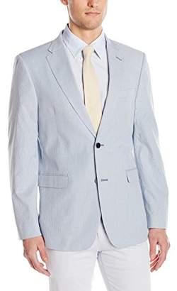 Tommy Hilfiger Men's Two Button Stretch Pincord Fine Stripe Blazer