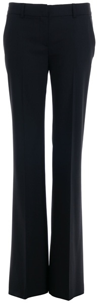 Theory Black smart trousers