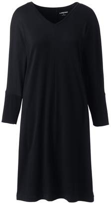 Womens Dolman Sleeve Shift Dress - 14-16 - RED Lands End Cheap Sale Reliable Clearance Newest Outlet Low Shipping Clearance Inexpensive IJh3D4gK