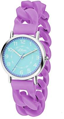 S'Oliver Girls' Watch SO-3428-PQ