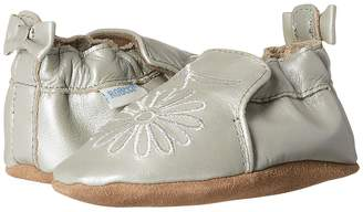 Robeez Metallic Mist Soft Sole Girls Shoes