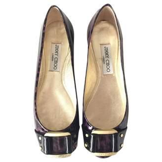 Jimmy Choo Patent leather ballet flats