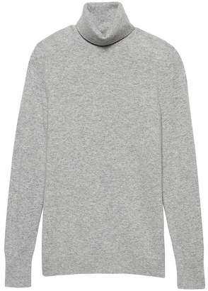 Banana Republic Wool-Blend Turtleneck Sweater