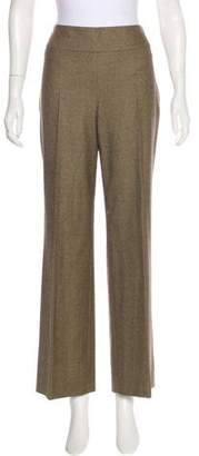 Akris Houndstooth High-Rise Pants